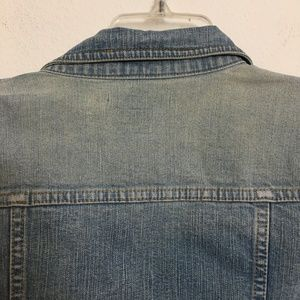 GAP Jackets & Coats - GAP faded denim jacket size M